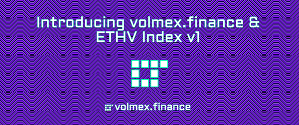 Introducing volmex.finance & ETHV Index v1